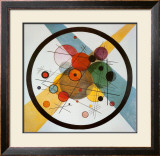 Circle in a Circle Prints by Wassily Kandinsky