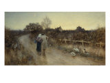 An Evening Stroll, 1906 Giclee Print by Thomas James Lloyd