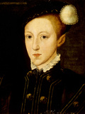 Portrait of Edward VI Giclee Print by William Scrots