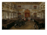 Grand Duke Constantin Nikolaevichtaking his Oath of Allegiance to Tsar and Fatherland, St George&#39;s  Giclee Print by Adolphe Ladurner