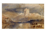 Norham Castle - Moonrise Prints by William Turner