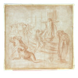 Sketch for King Oedipus, c.1895 Posters by Piere-Auguste Renoir