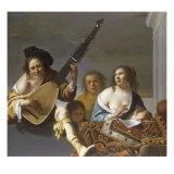 A Concert Prints by Joan Gerritsz van Bronchorst