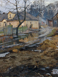 Village in Spring Giclee Print by Arnold Borisovich Lakhovsky