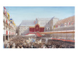 The Coronation of the King and Queen of Prussia Giclee Print by George Houseman Thomas