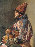Portrait of a Kirgiz Man Print by Vasilij Vereshchagin