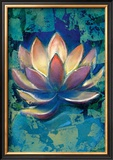 Lotus II Framed Giclee Print by Marcella Rose