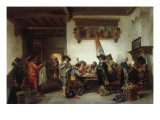 The Peace Treaty Giclee Print by Herman Ten Kate