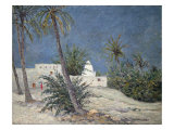Le Marabout de Bou-Chagroune, Sahara, 1913 Giclee Print by Maxime Emile Louis Maufra
