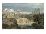Knaresborough Castle, Yorkshire Giclee Print by J. M. W. Turner