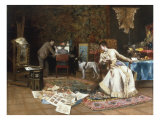 The Artist's Studio Giclee Print by Armand Toussaint