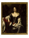Portrait of Queen Anne when Princess of Denmark, 1687 Giclee Print by William Wissing