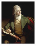 Portrait of Thomas Paul Sandby (1753-1839) Giclee Print by John Francis Rigaud