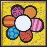 Flower Power I Prints by Romero Britto
