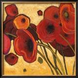 Poppies Wildly I Prints by Shirley Novak