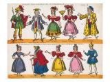 Cinderella, Paper theatre Poster by John Redington
