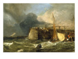 Old Margate Pier Giclee Print by J. M. W. Turner