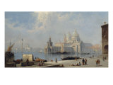 The Dogana, Venice Giclee Print by J. Vivian
