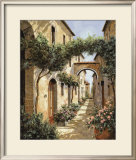 Passando Sotto L'Arco Prints by Guido Borelli
