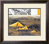 The Yellow Umbrellas, 1991 Art by  Christo
