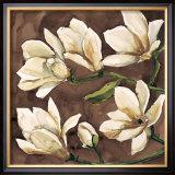 Fiori di Magnolia Print by Giuseppina Tartagni