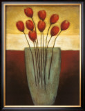 Tulips Aplenty II Print by Eve Shpritser