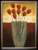 Tulips Aplenty II Print by Eve Shpritser