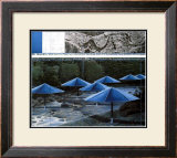 The Blue Umbrellas, 1991 Posters by  Christo