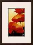 Three Red Poppies II Posters by Jettie Rosenboom