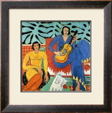 Music Framed Giclee Print by Henri Matisse