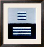 Landeline Blue, c.1999 Framed Giclee Print by Sean Scully