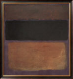 No. 10, 1963 Prints by Mark Rothko