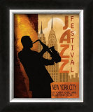 Jazz in New York, 1962 Poster by Conrad Knutsen