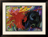 Fighting Forms Art by Franz Marc