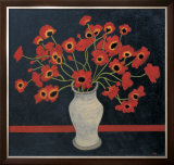 Red Poppies Prints by Beverly Jean
