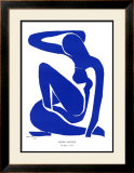 Nu Bleu I, c.1952 Posters by Henri Matisse