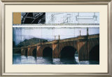 Le Pont Neuf Wrapped I Poster by  Christo