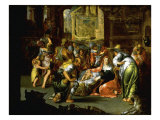 The Adoration of the Shepherds Prints by Joachim Utewael