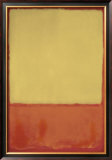 The Ochre, 1954 Prints by Mark Rothko