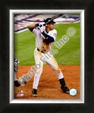 Derek Jeter 2008 Batting Action Framed Photographic Print