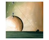 A Solar System Giclee Print by Cindy Thornton
