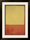 The Ochre, 1954 Poster by Mark Rothko