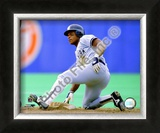 Rickey Henderson 1988 Framed Photographic Print