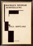 Bauhaus Gallery, c.1923 Framed Giclee Print