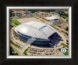 Cowboys Stadium Aerial View Framed Photographic Print