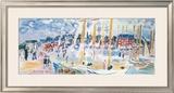 Dimanche a Deauvilie Prints by Raoul Dufy