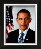 Barack Obama 2009 Official Portrait Framed Photographic Print