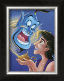 Aladdin and the Genie: The Magic Lamp Art