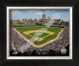 Wrigley Field Framed Photographic Print