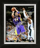 Kobe Bryant - '09 Finals Framed Photographic Print